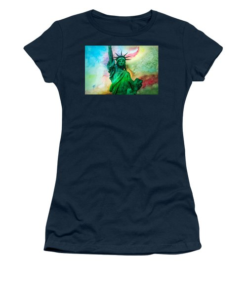 Stand Up For Your Dreams Women's T-Shirt (Junior Cut) by Az Jackson