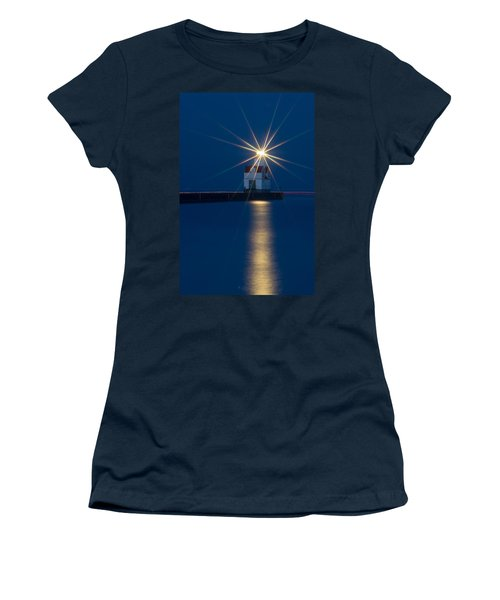 Star Bright Women's T-Shirt (Junior Cut) by Bill Pevlor