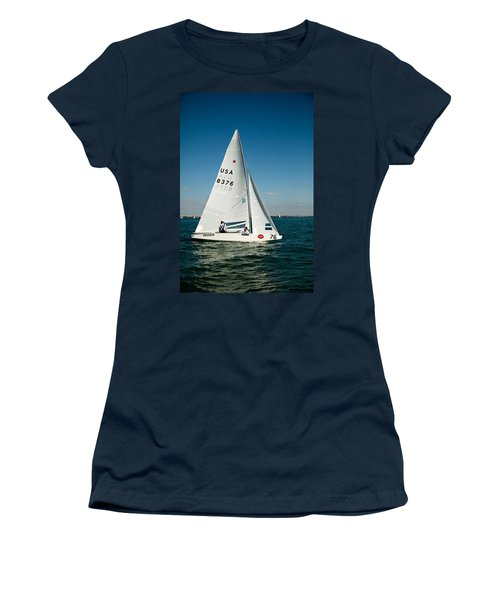 Star Sailboat Women's T-Shirt (Athletic Fit)