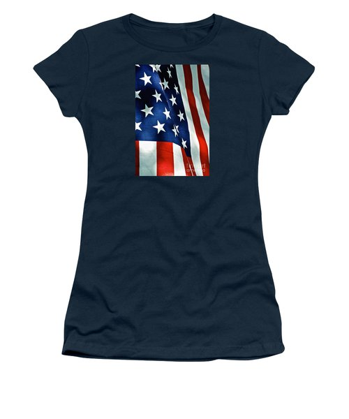 Star-spangled Banner Women's T-Shirt (Athletic Fit)