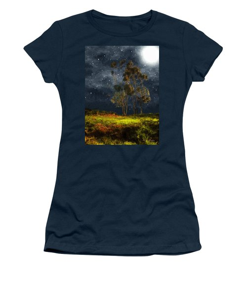 Starfield Women's T-Shirt (Junior Cut) by RC deWinter