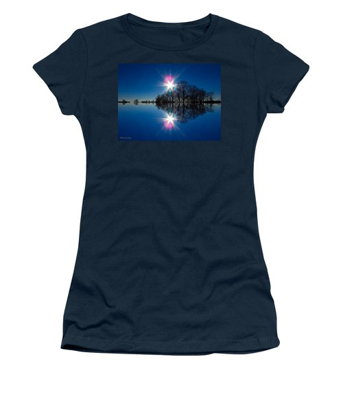 Starflection Women's T-Shirt (Athletic Fit)