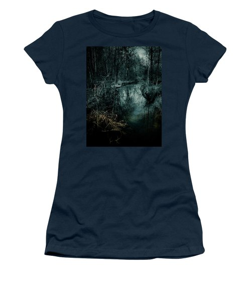 Still Waters Run Deep Women's T-Shirt (Athletic Fit)
