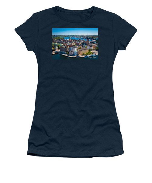 Stockholm From Above Women's T-Shirt