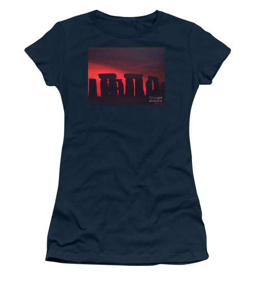 Stonehenge At Dusk Women's T-Shirt