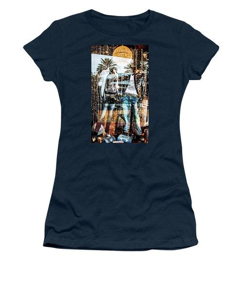 Store Window Display Women's T-Shirt