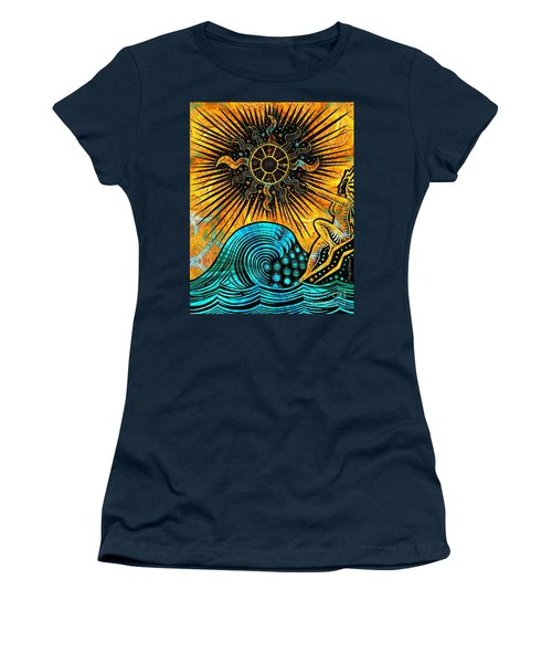 Big Sur Sun Goddess Women's T-Shirt (Athletic Fit)