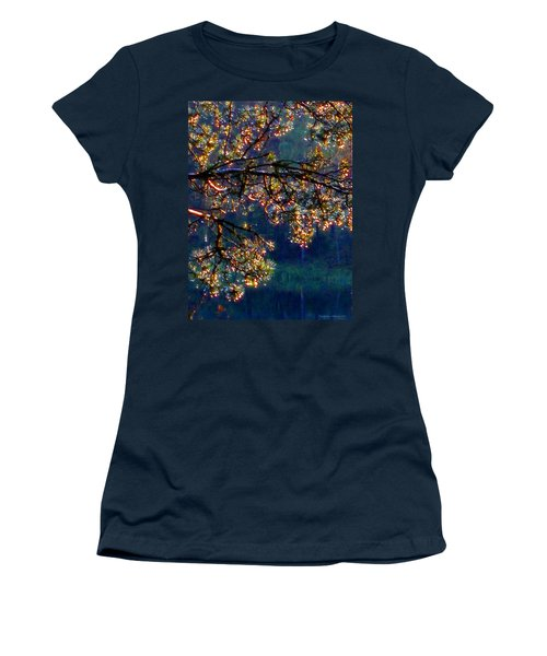 Sundrops Women's T-Shirt (Junior Cut) by Leena Pekkalainen