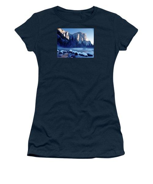 Sunrise On El Capitan Yosemite National Park Women's T-Shirt