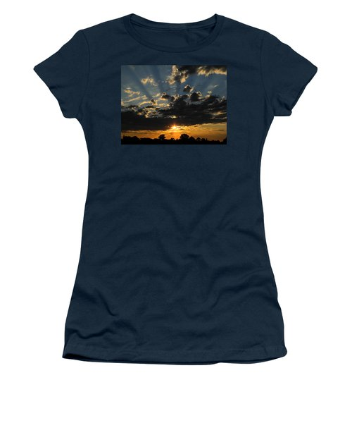 Dark Sunset Women's T-Shirt (Junior Cut) by Mark Blauhoefer