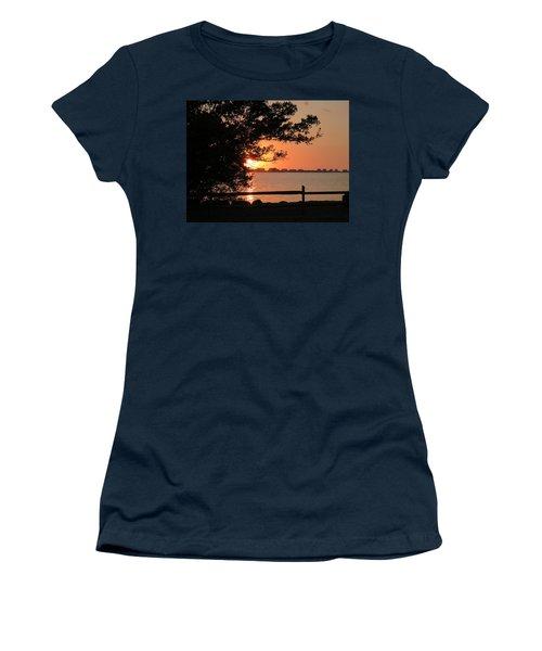 Sunset On Sarasota Harbor Women's T-Shirt