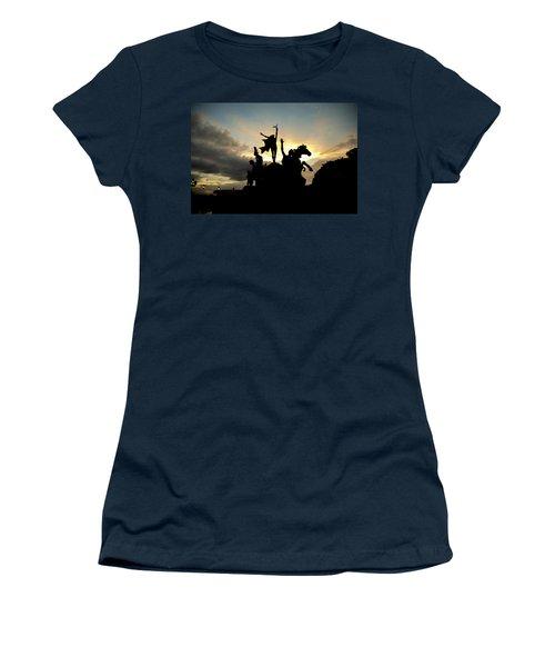 Sunset Silhouette Women's T-Shirt