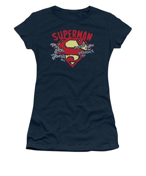 Superman - Chain Breaking Women's T-Shirt