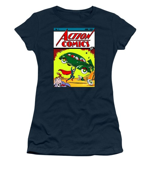 First Edition - Superman Comic Book  Women's T-Shirt