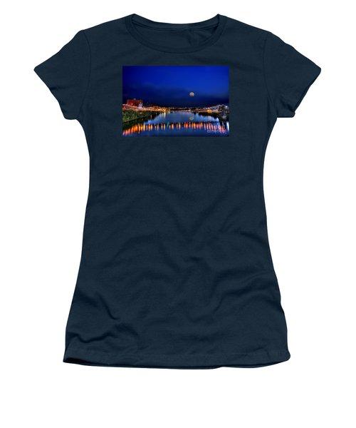 Suspension Bridge Women's T-Shirt (Athletic Fit)