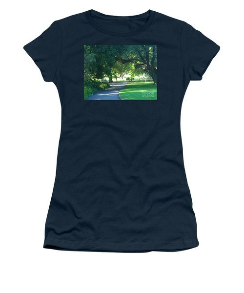 Sydney Botanical Gardens Walk Women's T-Shirt (Junior Cut) by Leanne Seymour