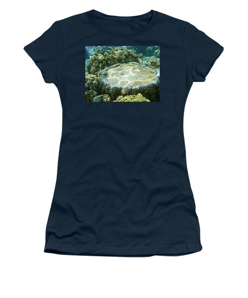 Table Top Coral Women's T-Shirt (Junior Cut) by Denise Bird