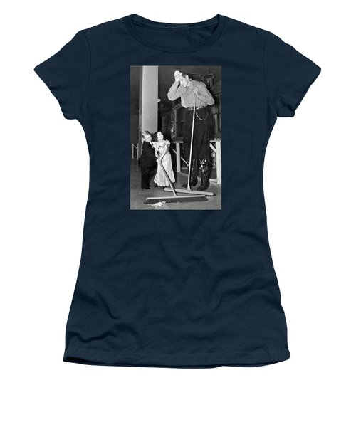 Tall And Short Of It Women's T-Shirt