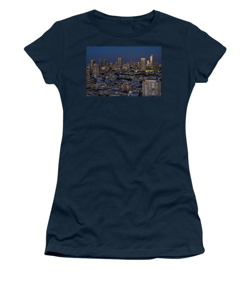 Tel Aviv At The Twilight Magic Hour Women's T-Shirt