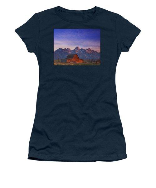 Teton Sunrise Women's T-Shirt (Athletic Fit)