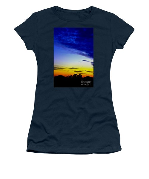 Texas Hill Country Sunset Women's T-Shirt (Athletic Fit)