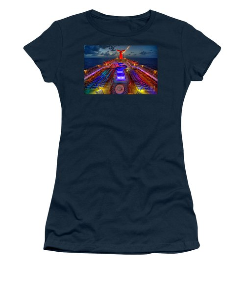 The Cruise Lights At Night Women's T-Shirt