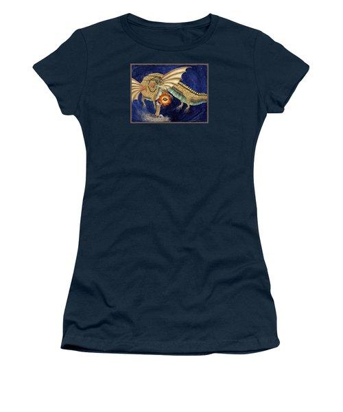 The Dragon King Women's T-Shirt (Junior Cut) by Lynda Hoffman-Snodgrass