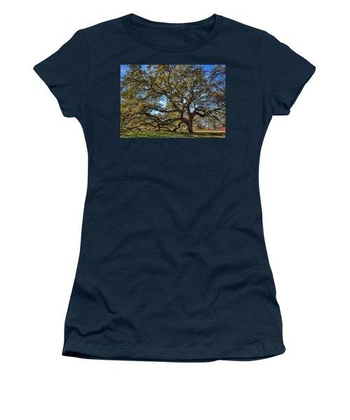 The Emancipation Oak Tree At Hu Women's T-Shirt