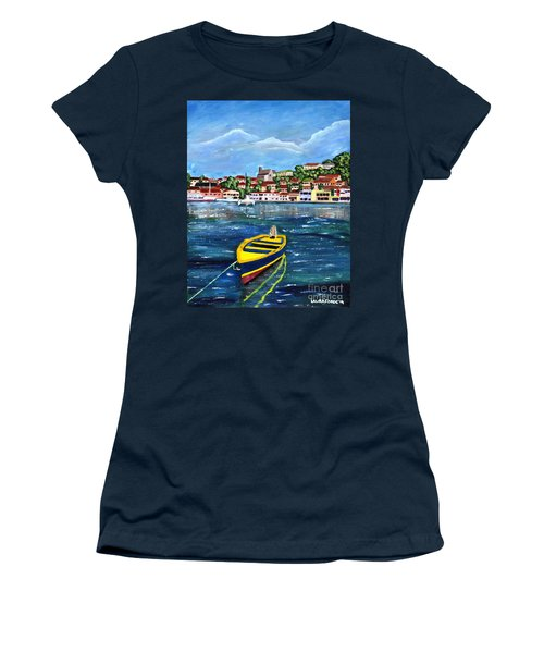 The Fishing Boat  Women's T-Shirt (Athletic Fit)