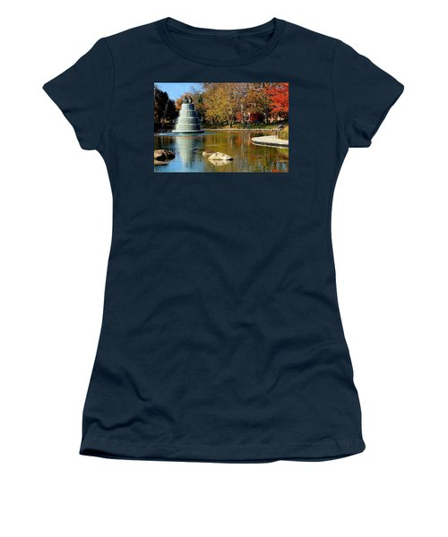 The Goodale Park  Fountain Women's T-Shirt (Athletic Fit)