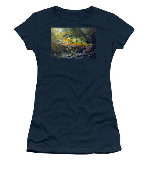 The Great Peacock Bass Women's T-Shirt