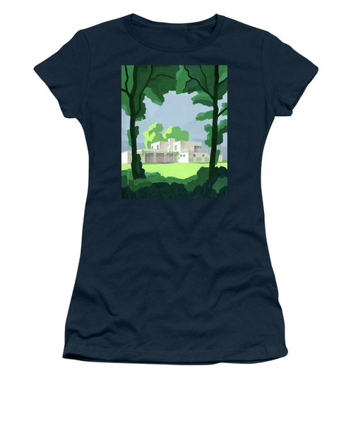 The Ideal House In House And Gardens Women's T-Shirt
