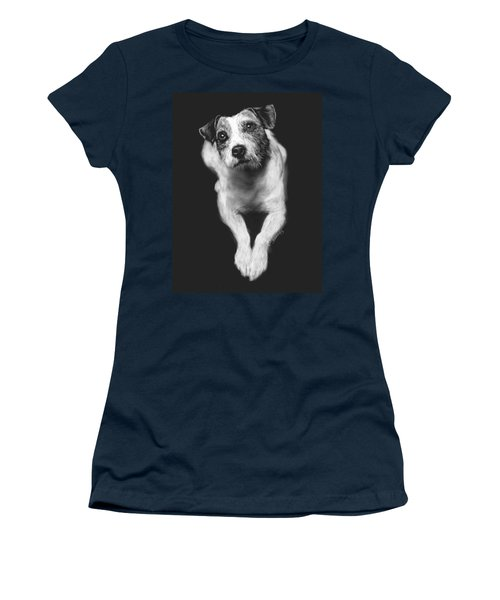 The Jack Russell Stare- Got Ball? Women's T-Shirt (Athletic Fit)