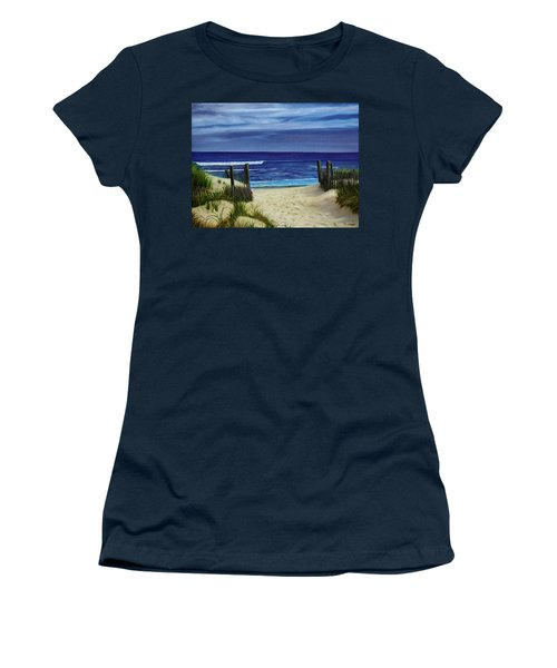 The Jersey Shore Women's T-Shirt (Athletic Fit)