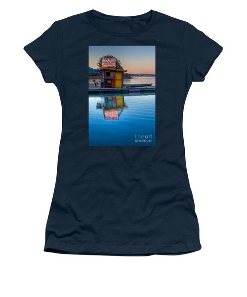 The Kayak Shack Morro Bay Women's T-Shirt (Athletic Fit)