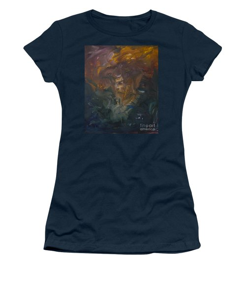 The Old Monarch Women's T-Shirt (Athletic Fit)