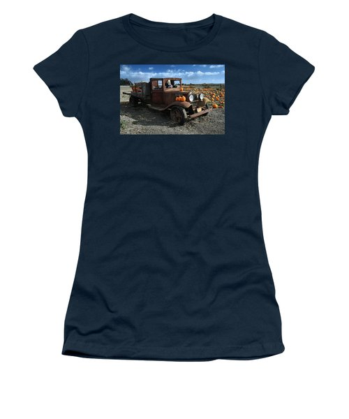 The Old Pumpkin Patch Women's T-Shirt (Athletic Fit)