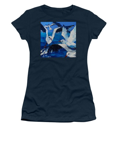 The Seagulls Women's T-Shirt (Athletic Fit)