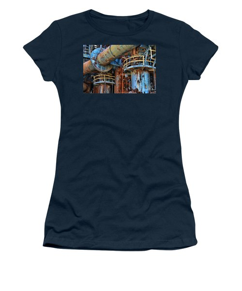 The Steel Mill Women's T-Shirt (Athletic Fit)
