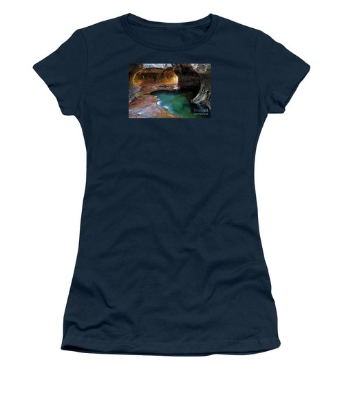 The Subway Sacred Light Women's T-Shirt (Junior Cut) by Bob Christopher