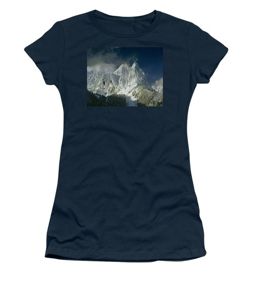 1m4503-three Peaks Of Mt. Index Women's T-Shirt