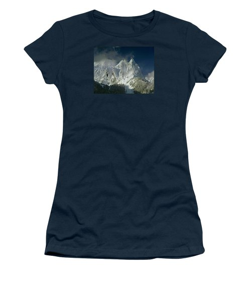 1m4503-three Peaks Of Mt. Index Women's T-Shirt