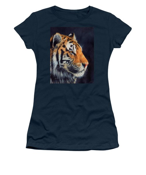 Tiger Profile Women's T-Shirt