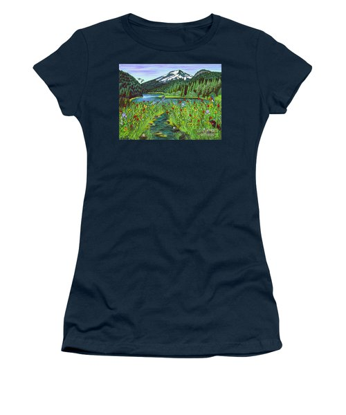 Todd Lake Mt. Bachelor Women's T-Shirt