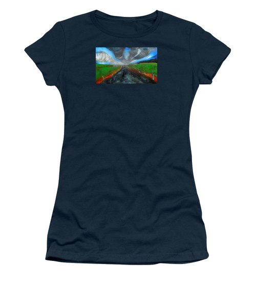 Tornadoes Women's T-Shirt (Athletic Fit)