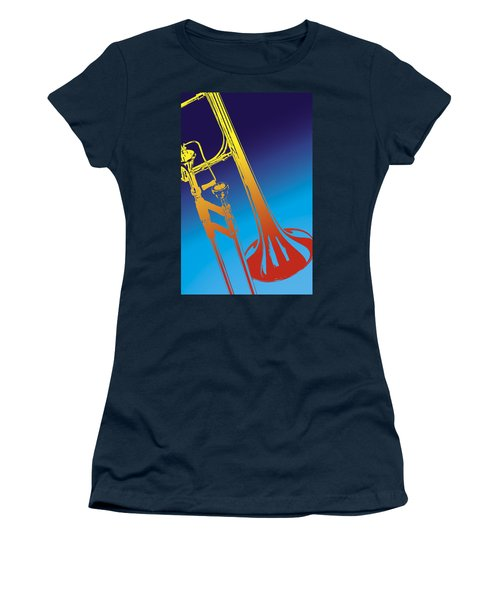 Trombone Women's T-Shirt (Athletic Fit)