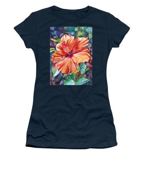 Tropical Hibiscus 5 Women's T-Shirt
