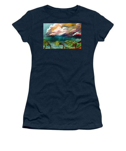 Tropical Storm Women's T-Shirt (Athletic Fit)