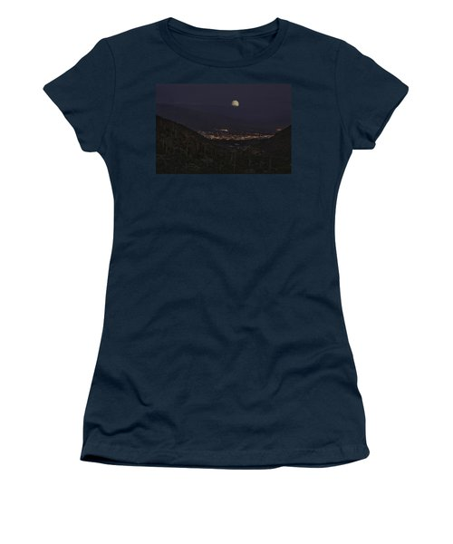 Tucson At Dusk Women's T-Shirt (Athletic Fit)