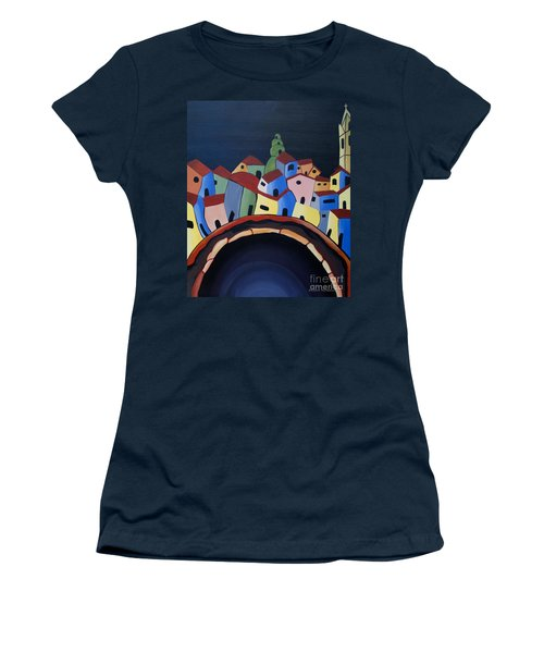 Tunnels Of Guanajuato Women's T-Shirt (Athletic Fit)
